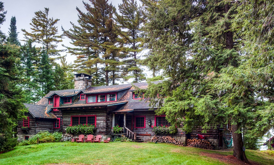 J.P. Morgan's 120-year-old 'Great Camp Uncas' in the Adirondacks finally sells