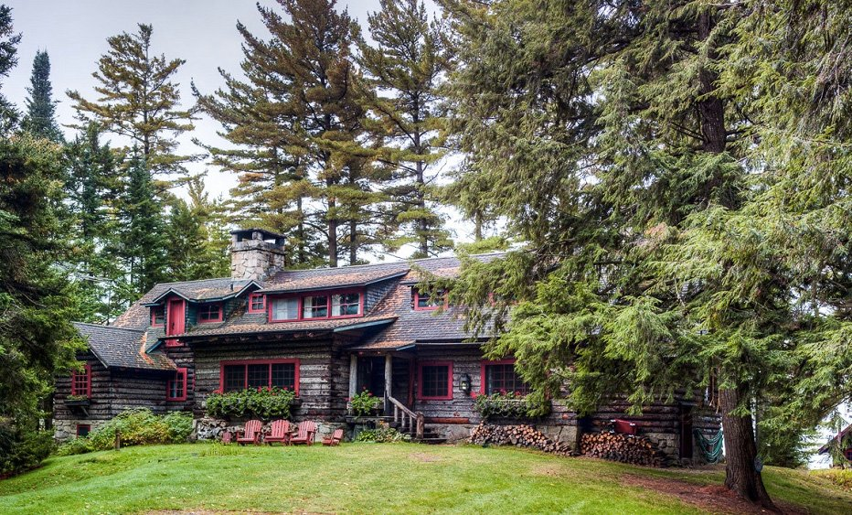 J.P. Morgan's 120-year-old 'Great Camp Uncas' in the Adirondack wilderness reduced to $2.7M