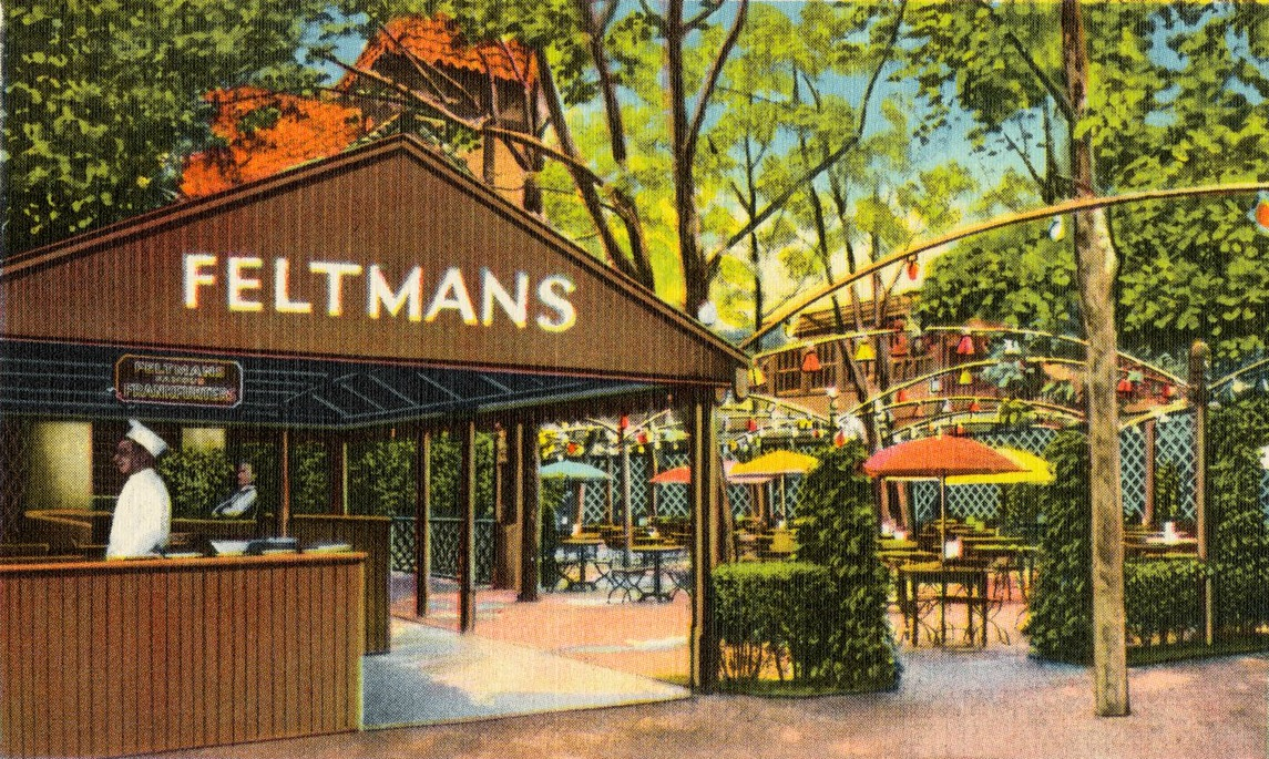 Feltman's Coney Island, Coney Island hot dogs, Coney Island red hots, hot dog history, Charles Feltman