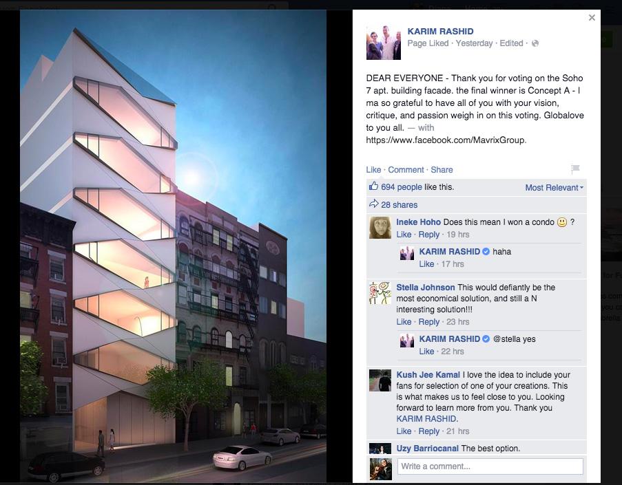 karim rashid 30 thompson street, karim rashid new york, 30 thompson street