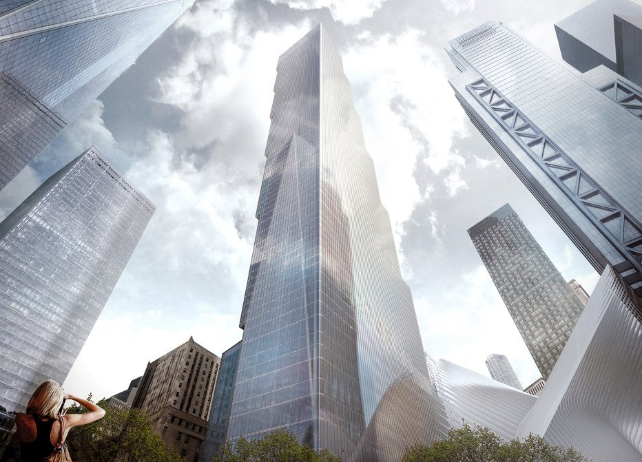 Developer scraps Bjarke Ingels-designed 2 WTC for revamped Norman Foster tower