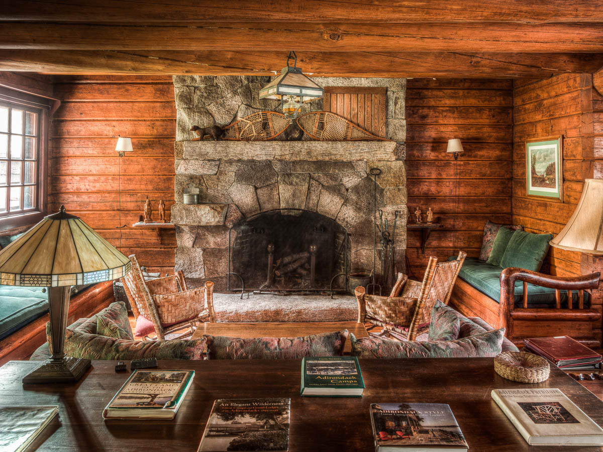 Camp Uncas, Adirondacks historical homes, JP Morgan vacation home