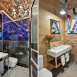 88 Franklin Street, bathrooms, tribeca, loft