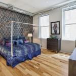 88 Franklin Street, loft, tribeca, bedroom