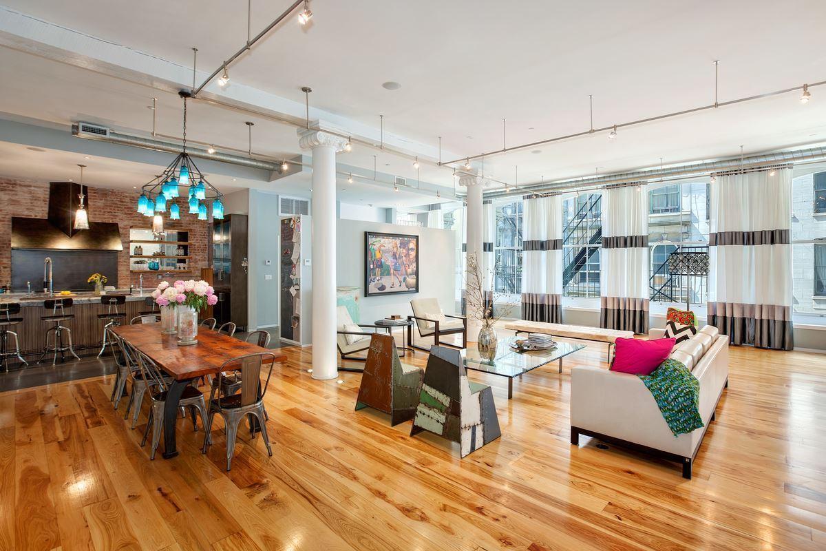 88 Franklin Street, tribeca, loft