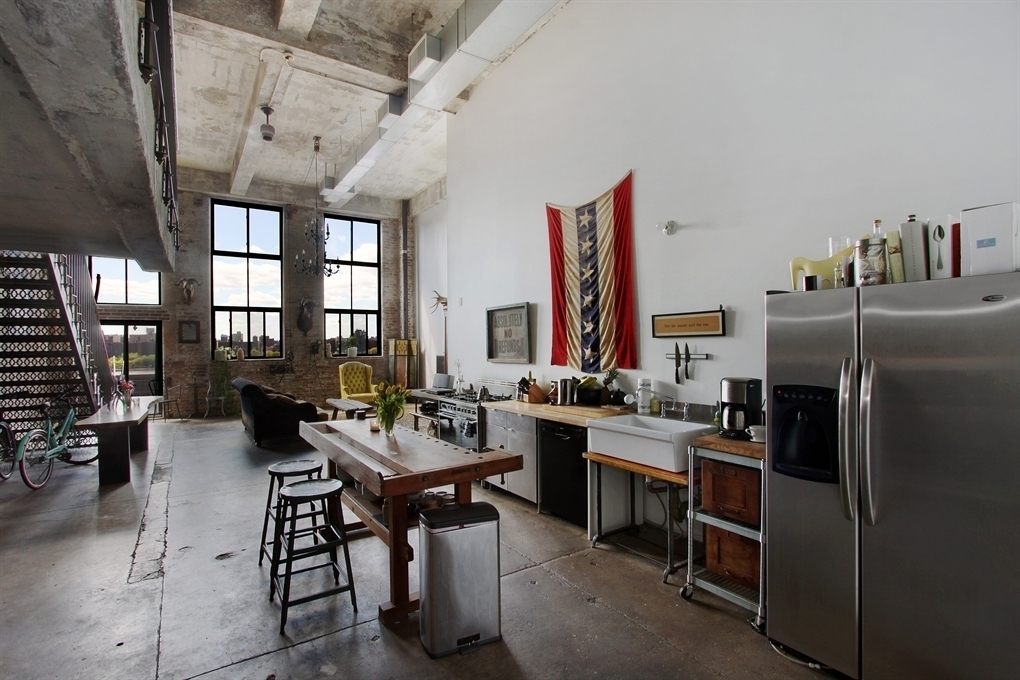 330 Wythe Avenue, kitchen, Esquire Lofts, Williamsburg