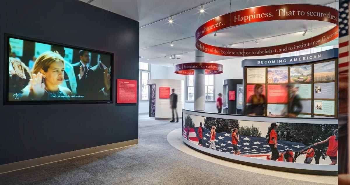 Peopling of America Center, Ellis Island, ESI Design, Michael Schneider