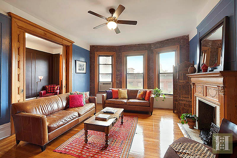 Charming Apartment In One Of Harlem 39 S Oldest Co Ops Asks 1 1m 6sqft
