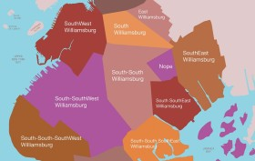Brooklyn Williamsburg Map