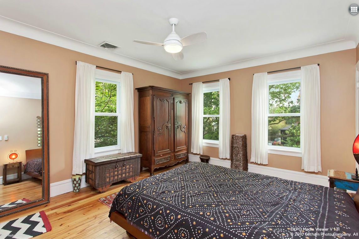 235 Stratford Road, bedroom, Ditmas Park, Brooklyn