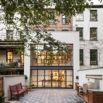 Elizabeth Roberts Ensemble Architecture, Fort Greene Townhouse, modern townhouses, Brooklyn design