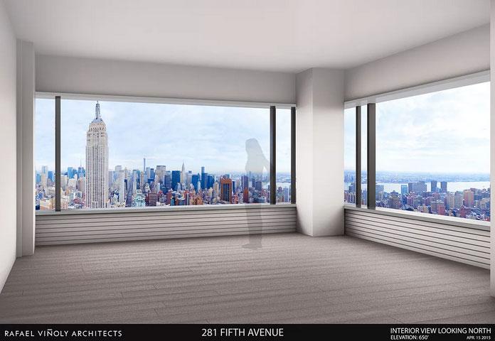 281 fifth avenue rafael vinoly tower, 281 fifth avenue, rafael vinoly tower