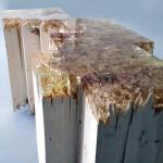 Broken Board Series 2, Jack Craig, furniture design, caramelized resin