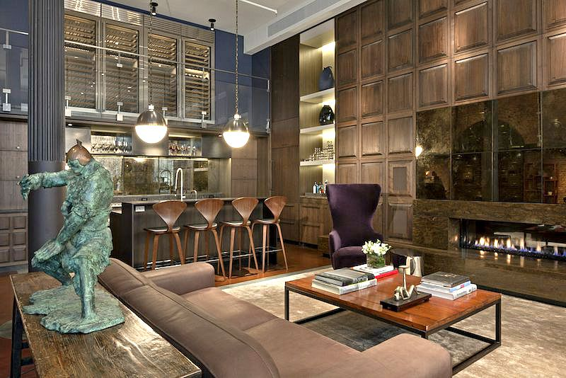DHD Interiors Crosby Street Loft NYC Interior Design Soho