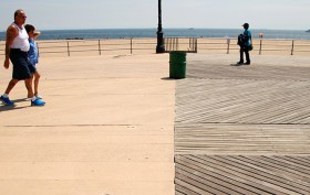 coney island, coney island boardwalk, boardwalk, nathan kensinger, photo essay