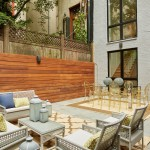 337 West 87th Street, patio, backyard, garden