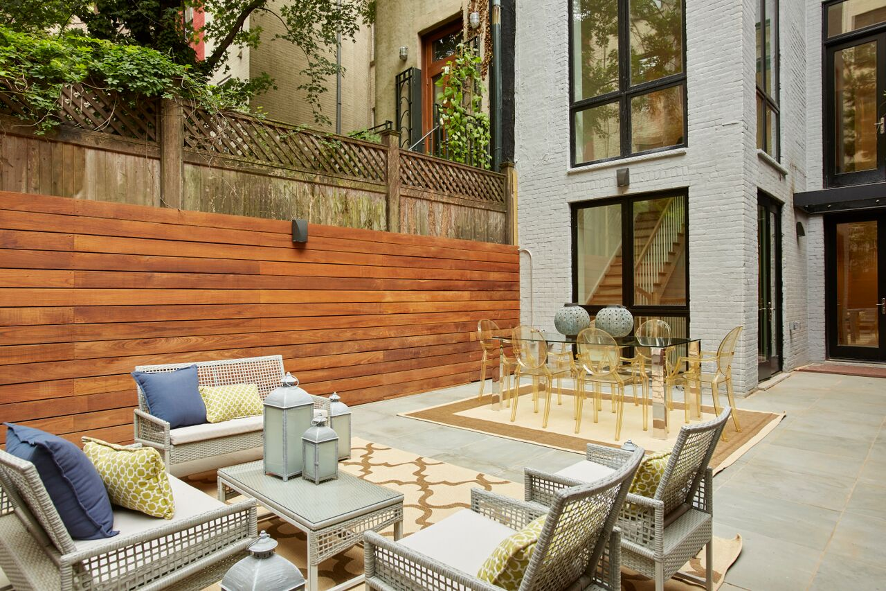 337 West 87th Street, patio, backyard, garden
