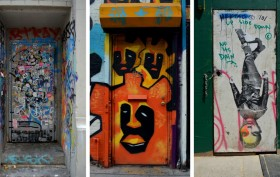 Doorway Galleries, Adel Souto, NYC street art, NYC street photography