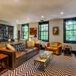 73 Joralemon Street, Townhouse, Brooklyn Heights, Cool Listings, Brooklyn Townhouse, House for sale, interiors, living room, kitchen, Nick Olsen, New Eco