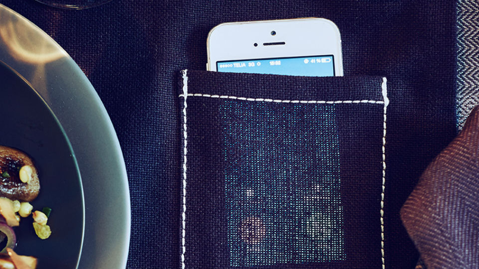 Ikea Sittning, Placemat with Phone pocket