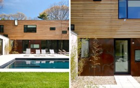Bernheimer Architecture, Lightbox House, Wainscott NY, Red Cedar house