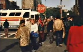 No York City, Rick Liss, 1980s NYC, stop motion film