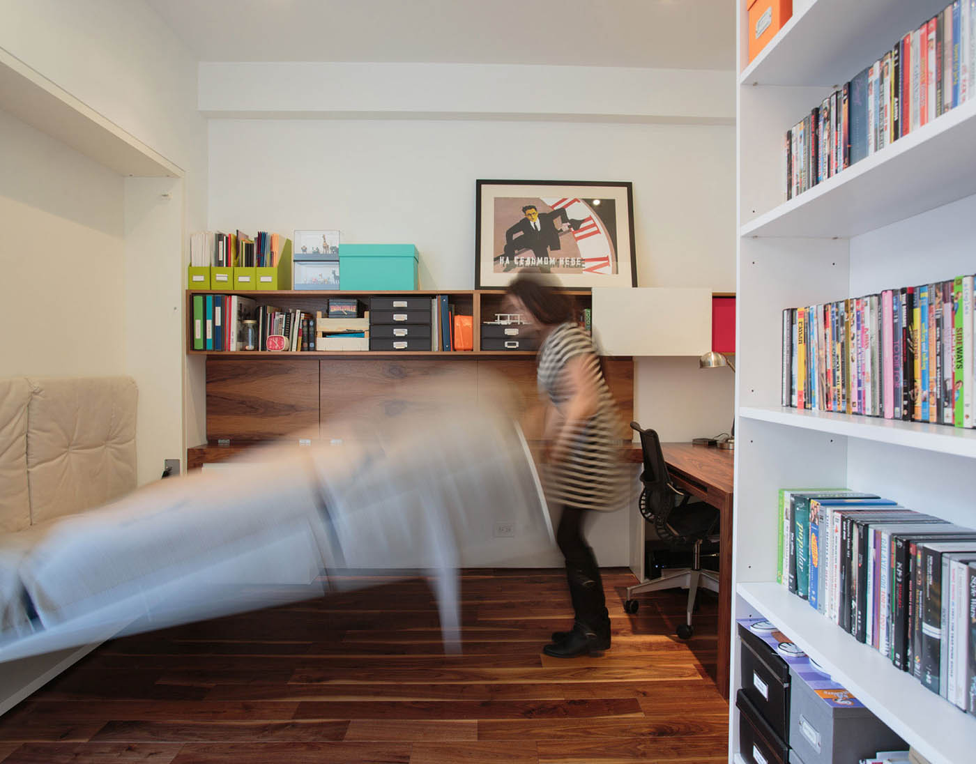 raad studio, guest room, noho duplex
