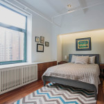raad studio, master bedroom, noho duplex