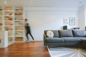 raad studio, living room, noho duplex, renovation , sofa