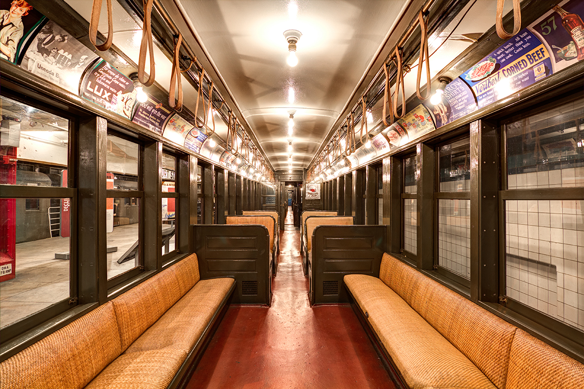new yorker spotlight gabrielle shubert reflects on her ride at the new york transit museum 6sqft. Black Bedroom Furniture Sets. Home Design Ideas