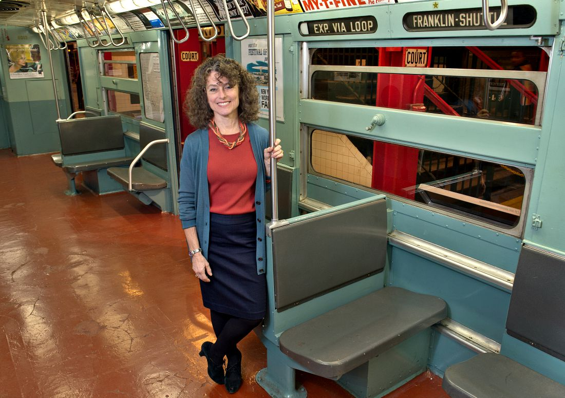 New York Transit Museum, NYC transportation history, Brooklyn museums, vintage subway cars, Gabrielle Shubert