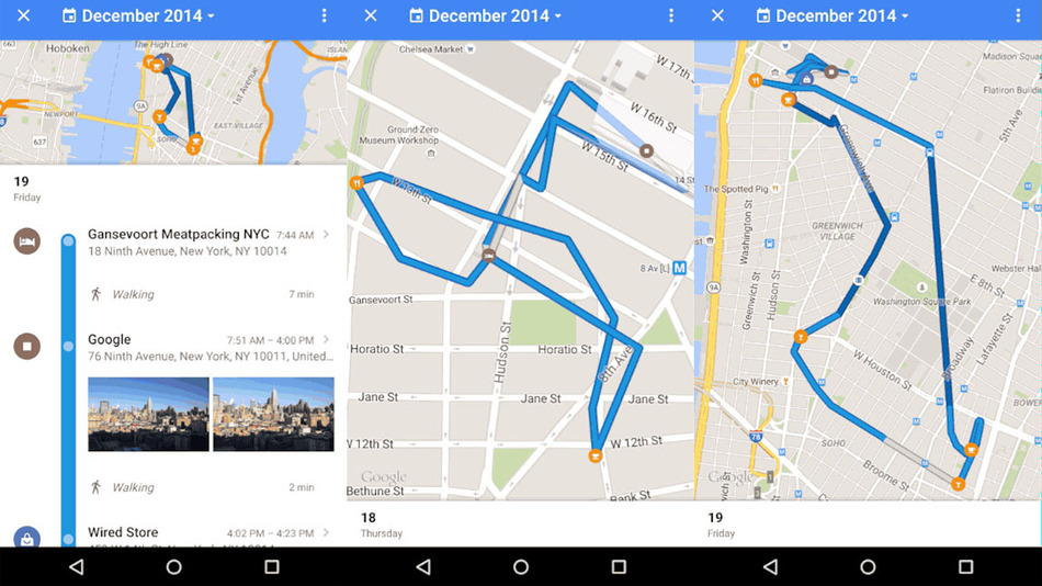 Retrace All Your Past Steps with Google Maps; The City Looked a lot ...