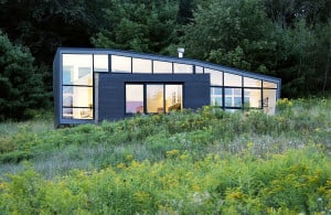 David Jay Weiner, upstate weekend house, Stephentown NY, modern kimono