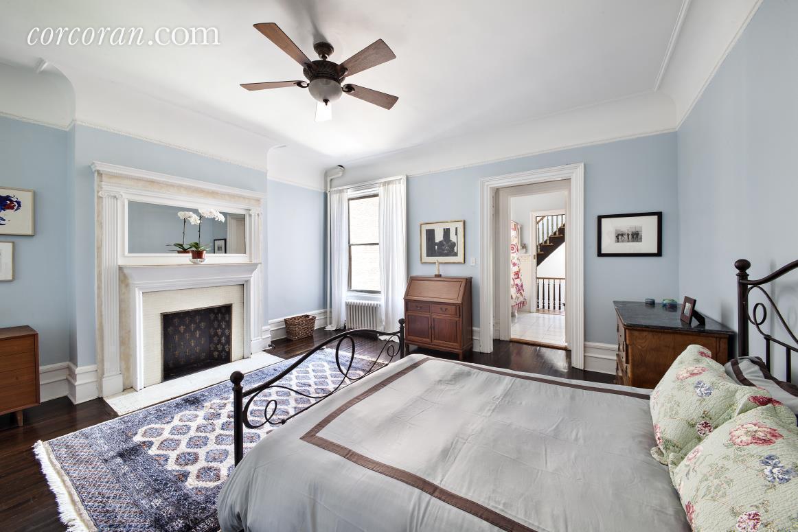 465 West 141st Street, Harlem, townhouse, bedroom
