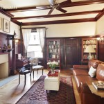 465 West 141st Street, library, townhouse, Harlem