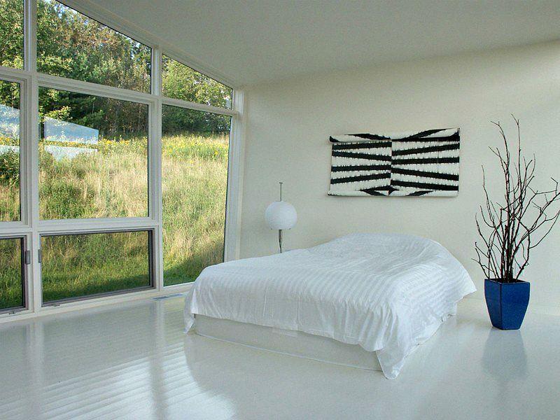David Jay Weiner, upstate weekend house, Stephentown NY, modern kimono