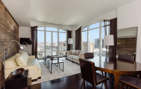 400 West 12th Street, Hilary Swank, West Village rentals, NYC celebrity real estate