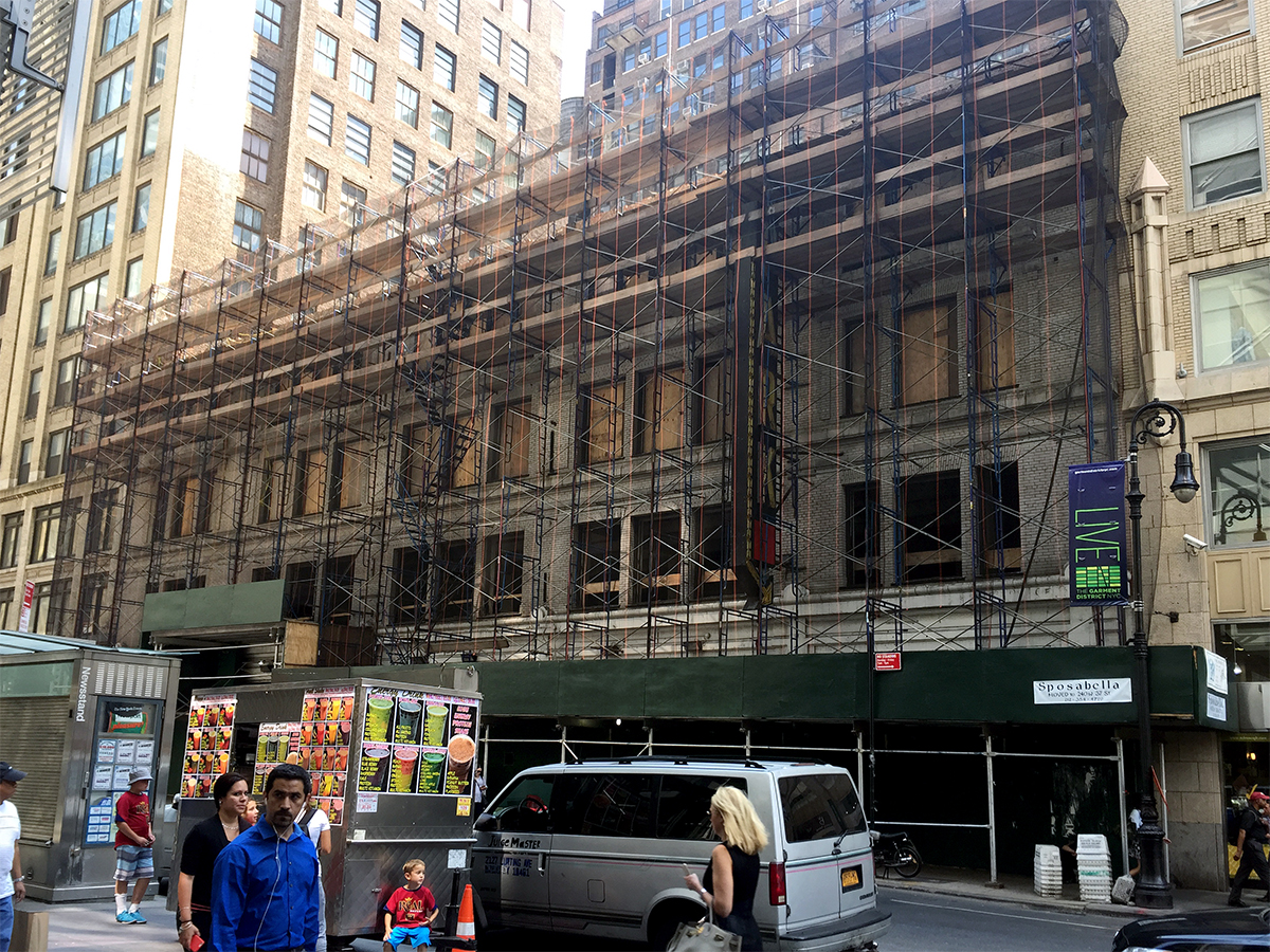 252 West 40th Street, Helpern Architects, Times Square hotels