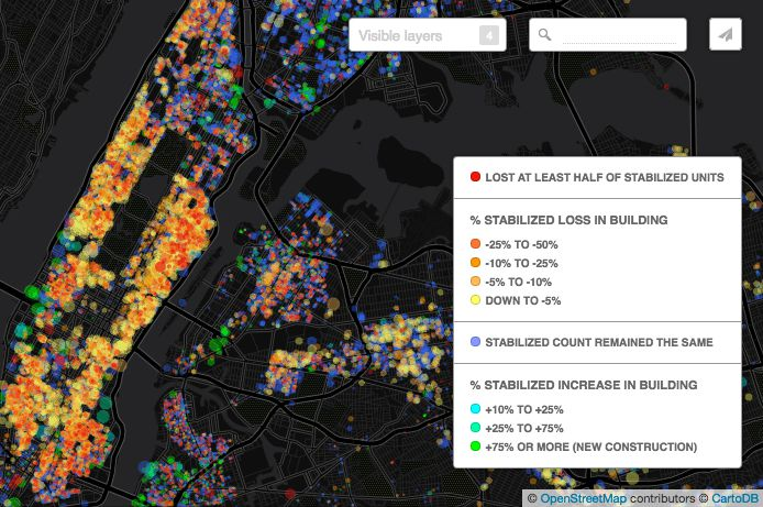 New Map Shows Where More Than Rent Stabilized Apartments - Us rent map