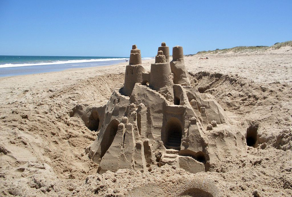 how to build a sandcastle Have fun when you learn how to build a sandcastle on the beach with sandcastle building tips for everyone.