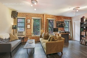 315 East 12th Street, outdoor terrace, exposed brick