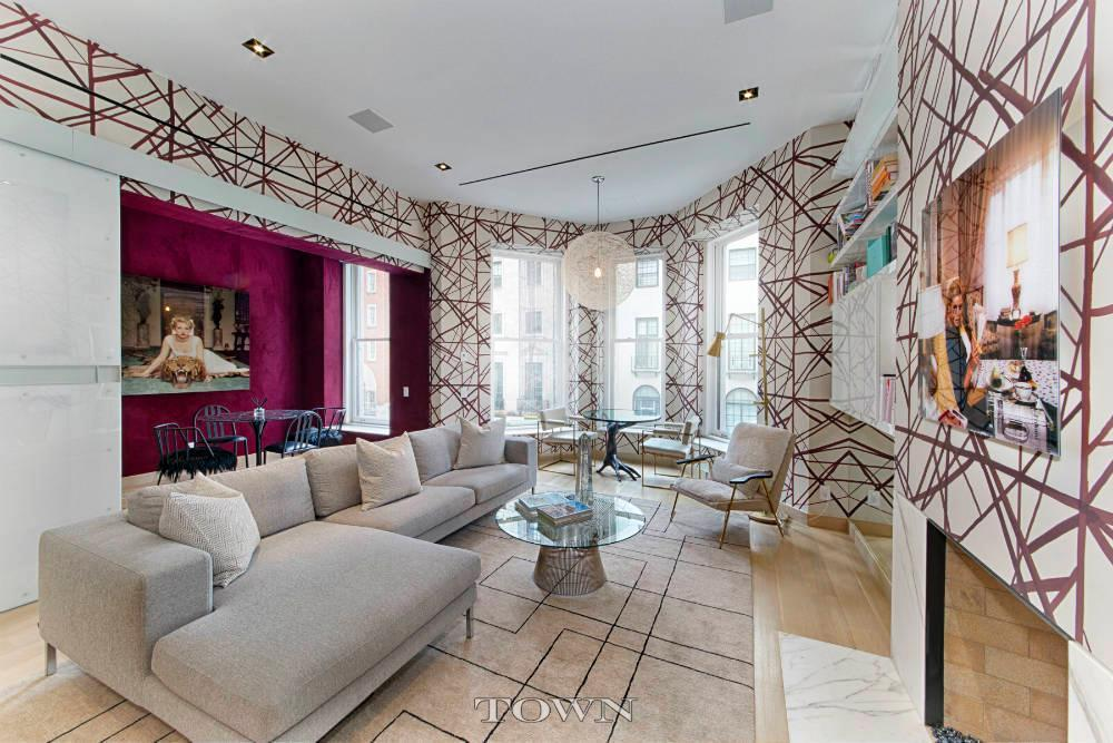 Upper East Side Townhouse With Chanel Inspired Bathroom Asks $26 Million