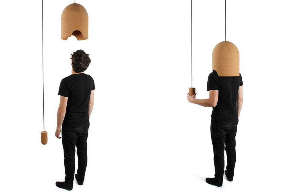 Pierre Emmanuel Vandeputte, Anti Noise Pollution, Cork Helmet, Noise Block,  Salone