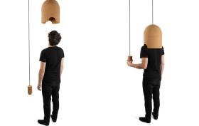 Pierre-Emmanuel Vandeputte, anti noise pollution, Cork Helmet, noise block, Salone del Mobile, renewable cork,