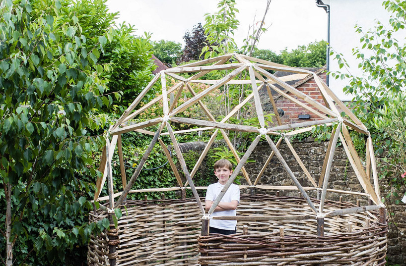 Build Your Own Mathematically-Accurate Geodesic Dome with Hubs | 6sqft