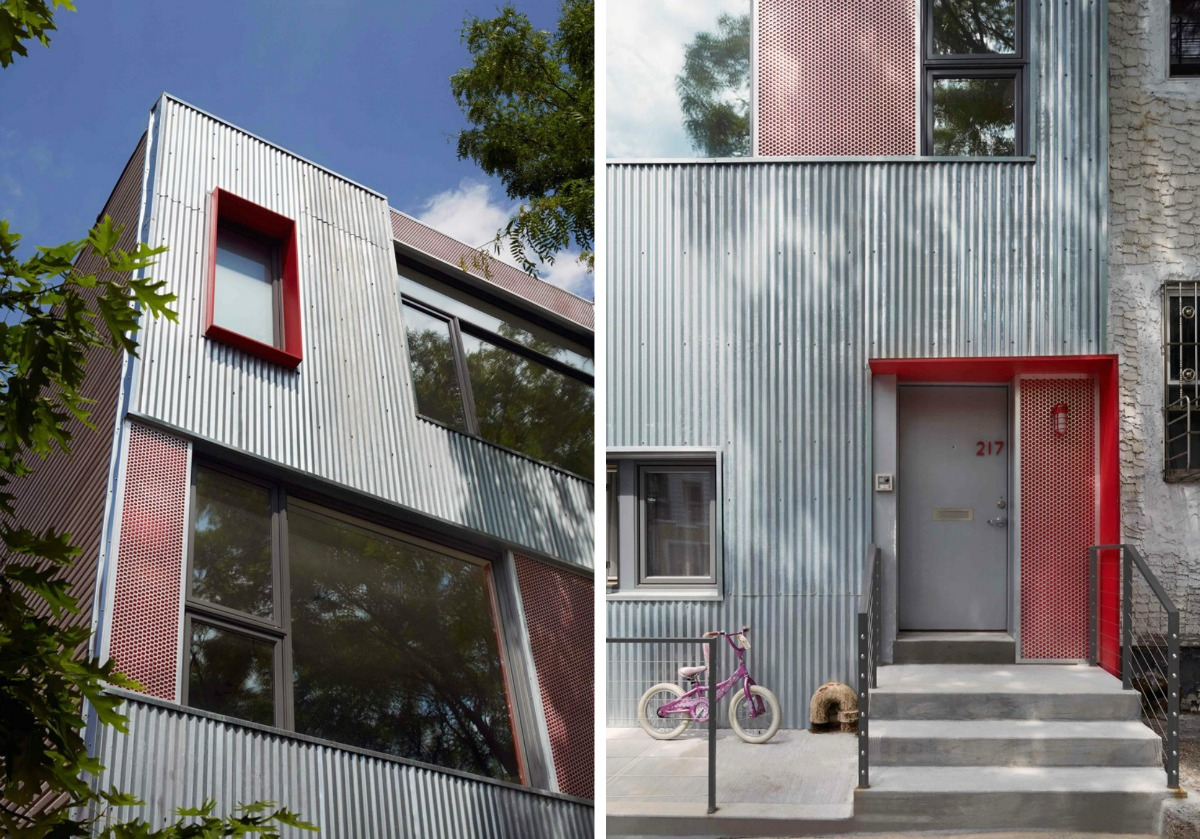 Etelamaki architecture park slope townhouse modern townhouse brooklyn design