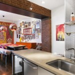 90 Hudson Street, Tribeca, kitchen, loft