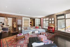 90 Hudson Street, Tribeca, loft apartment