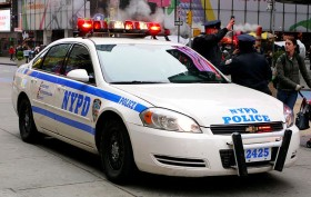 NYPD car, New York City Police Department