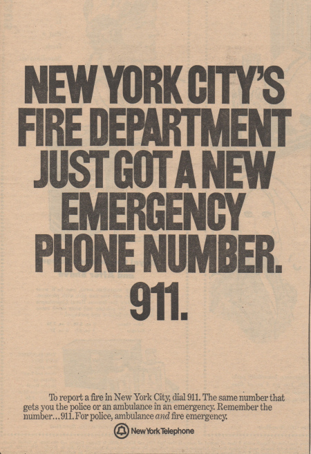 NYC 9-1-1, history of 9-1-1